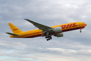 DHL latest 777 freighter and first operated by Kalitta Air