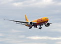 DHL latest 777 freighter and first to be operated by Kalitta Air, perf...