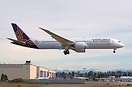 Vistara's first 787-9 long haul Dreamliner fully painted