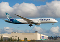 WestJet's latest 787-9 Dreamliner