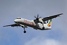 New DHC-8-402Q for Ethiopian Airlines on a sector of its delivery flig...