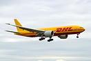 Latest DHL 777F operated by Kalitta Air on her first flight