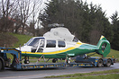 New Great North Air Ambulance Service Dauphin seen here on Delivery to...