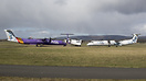 Three different FlyBE liveries impounded at Glasgow, after it's collap...