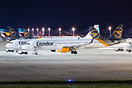 Parts of Condor's midrange fleet got stored at Dusseldorf airport due ...