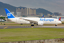 Air Europa made it's first ever visit to Shenzhen for transporting med...