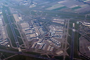 Overview of Amsterdam Schiphol Airport during the Cornavirus lockdown ...