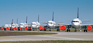 various A320 in old, new and Star Alliance livery as part of Lufthansa...