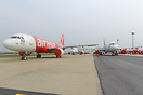 Air Asia Aircraft Storage
