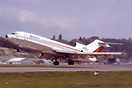 Wardair Canada's first jet , a Boeing 727-11 about to be delivered. it...