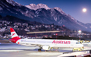 OE-LBF resting on ground at Innsbruck