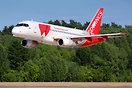 "The second ""first"" Superjet for Red Wings (plane was retired from flee..."