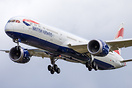 British Airways first Boeing 787-10 G-ZBLA arriving from Charleston US...