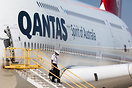 First of the many Qantas A380's being stored at VCV due to COVID-19
