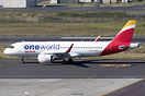 First visit to Tenerife North of an Iberia A320neo, also wearing the O...