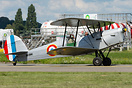 OO-GWC Stampe SV-4C c/n 1 in the colours of the French Air Force. It's...