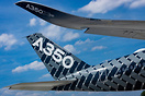 First visit of an A350 at Paris Orly airport, running tests for local ...