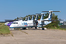 About 10 ex-FlyBe are currently stored at Maastricht-Aachen Airport