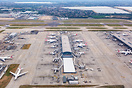 Overview London Heathrow Airport with Terminal 5C