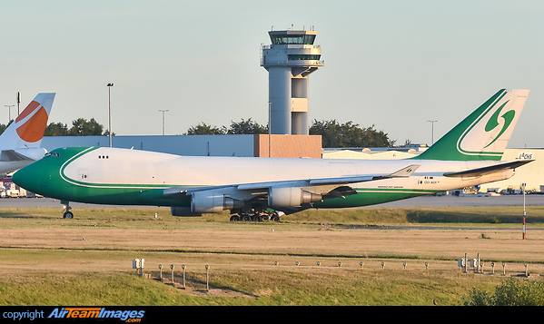 Boeing 747-4EVERF