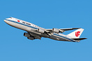 A beautiful Air China Boeing 747-8 on the Canarsie Departure.