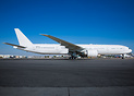 Ex Emirates A6-EBB, will be the first Boeing 777 passenger to freighte...