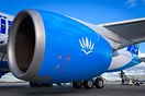 Closeup on this A350's huge Rolls-Royce Trent XWB engine