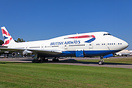 Retired from the British Airways fleet and now residing at Kemble wher...