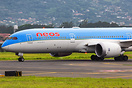 Neos Air in Costa Rica for repatriation flight