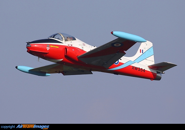 Hunting Jet Provost T5A