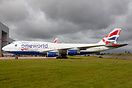 Stored at Cardiff after being withdrawn from the BA fleet due to Covid...