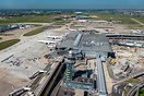Closeup with the ATC Tower, terminal Orly 3 and the ongoing works for ...
