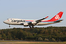 Transferred back to Cargolux Airlines International since decemeber 20...