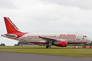 Former VT-SCA of Air India retired from service and currently stored a...