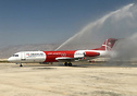 First ever visit of Qeshm Air in Lamerd