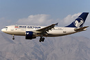 First Airbus A310 for Iran AirTour. Ex Tarom