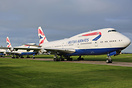 British Airways Boeing 747-400's now retired at Cotswold Airport.