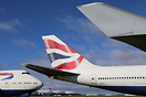 British Airways Boeing 747-400's now retired and stored at Cotswold Ai...