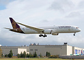 Vistara's latest 787-9 returning from painting