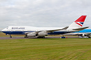Negus Retro livery now stored at Kemble Cotswold Airport after being w...