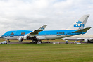 Former PH-BFG of KLM has now been registered to TF-AMG for Air Atlanta...