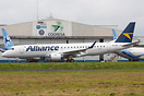 First Embraer 190 with Alliance Airlines colors on test flight. Sold b...