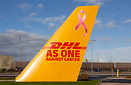 For the month of October, 5 planes got the Pink Ribbon for Breast Canc...