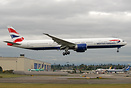 Latest BA 777 on her first flight