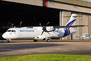 G-CLNK is West Atlantic's first ATR72 and is ex-EC-JQF of Swift Air (S...