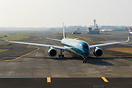 Rare visit of Vietnam Airlines to Mumbai.