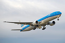 Latest KLM 777 taking off