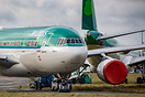 Two Aer Lingus Airbus A330s in long term storage at Shannon Airport. T...