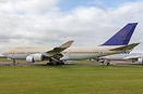 Slowing being taken apart and stripped at Cotswold airport on retireme...
