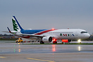 Unusual visitor for Paris Orly as part of diverted traffic due to stor...
